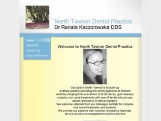 North Tawton Dentists Renata Kaczorowska Dental Surgeon