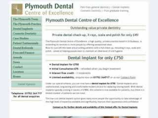 Plymouth Dental Centre of Excellence